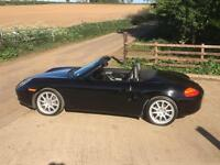 Porsche Boxster 2.7 2001 Black/Black leather 54000 miles FSH GT3 Alloys
