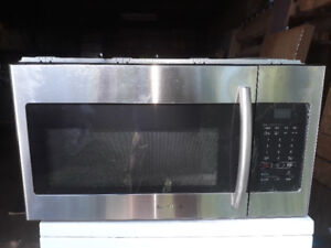 New Samsung over the range microwave for sale never been used