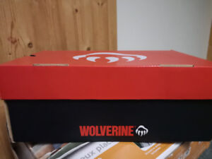 Wolverine Safety Shoes For Sale (size 7.5), worn once.