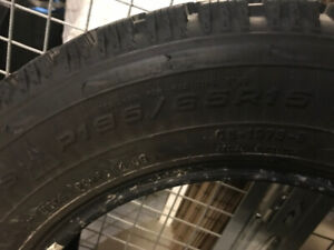 Selling 4 winter tires: Goodyear Nordic 195/65R15