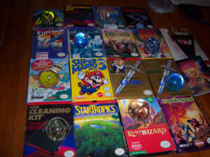 Lots Of Boxed NES Nintendo Games Price List Coming Soon