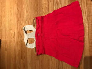 lululemon coral scoop neck tank size 6