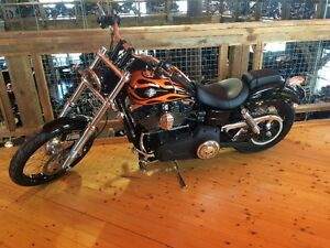 Wide Glide  LOW KM's  lots of extras