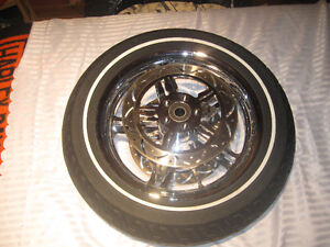 CUSTOM DNA 16 INCH FRONT WHEEL with custom rotors London Ontario image 1