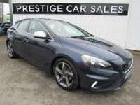 2014 Volvo V40 1.6 TD D2 R-Design (s/s) 5dr Diesel blue Manual