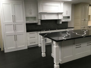 Time for a fancy kitchen!! Step Shaker White kitchen on SALE!!