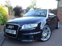2007 07 Audi RS4 Cabriolet 4.2 Quattro..F.S.H...EYE CATCHING COLOUR COMBO !!