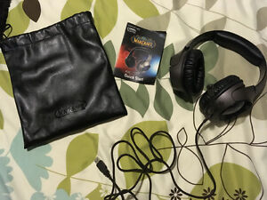 Sound blaster headset set world of Warcraft