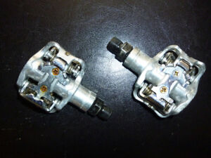 Clipless pedals!