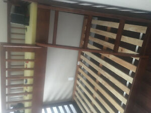 2 month old bunk bed for sale!
