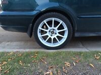 17' Sparco Rims with Rubber