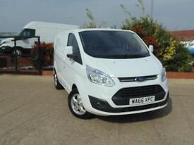 2016 Ford Transit Custom 2.2 TDCi 125ps Low Roof Limited Van Due March 2 door...