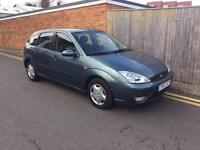 Ford Focus 1.8 TDCi 115 LHD LEFT HAND DRIVE 2002 ONLY 91K