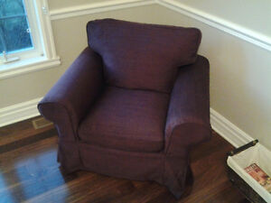 Housse Ektorp pour fauteuil 1 place