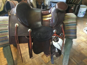 "15"" Roping Saddle"