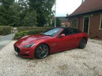 2013 Maserati Grancabrio 4.7 MC SPORT AUTO with black imbossed seats,sat nav,20s