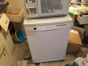WHITE TOP, FULL-SIZE PORTABLE DISHWASHER FOR SALE $299
