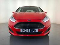 2014 FORD FIESTA TITANIUM HATCHBACK CRUISE CONTROL 1 OWNER SERVICE HISTORY