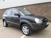 2007 (07) HYUNDAI TUCSON 2.0CRTD CDX DIESEL 6 SPEED MANUAL FULL LEATHER