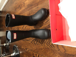 Hunter boots womens size 9 brand new