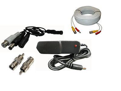 Dsc-mic Package, Cctv Tiny Audio Pick Up Device Spy Micro...