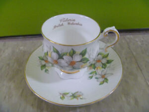 Various Bone China Cups And Saucers