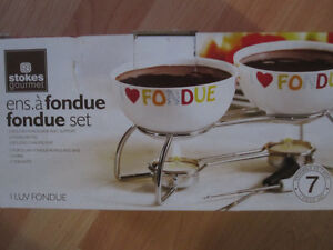 Chocolate fondue set Prince George British Columbia image 1