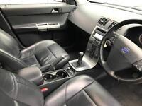 2005 05 reg Volvo S40 2.0D SE Saloon + Grey + Black Leather