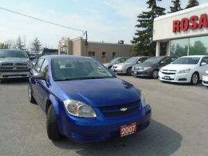 2007 Chevrolet Cobalt AUTO 4 DR SAFETY AUX LOCAL ONTARIO NO RUST