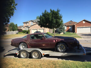 75/81 Trans Am ,, Parting Out