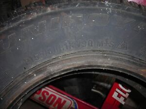 Two 155/8013  tires