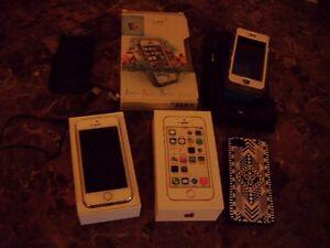 I phone 5 S unlocked 16 GB accessories Oakville / Halton Region Toronto (GTA) image 1