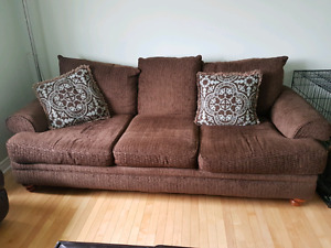 Two comfy couches for sale
