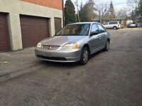 2003 Honda Civic 1.7 DX ** Pneu d'hiver **