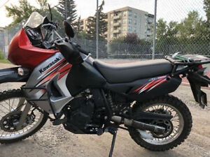 2011 Kawasaki KLR 650 Big Bore, low Kms