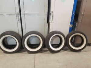 Used white wall tires for sale