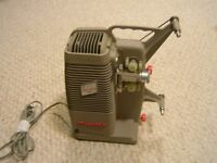 Vintage Mansfield Holiday 8mm Film Movie Projector $60
