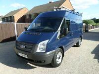 2013 Ford Transit 2.2TDCi, 125PS, 4x4, AWD, Workshop Van, Internal Racking, 67k