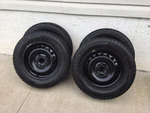 Winter tires and rims off of 2014 VW Jetta