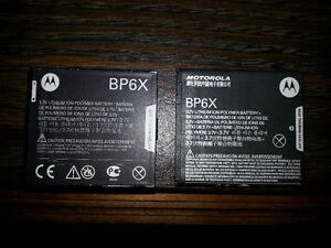 2 Motorola Cell Phone Batteries + Cell Phone