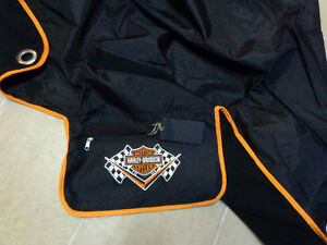 Harley travel roll blanket NEW- recycledgear.ca Kawartha Lakes Peterborough Area image 2
