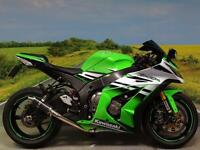 Kawasaki ZX10R Ninja 2015 **Aftermarket exhaust and super low miles!**