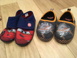 Cars and Planes Slippers size 10 (toddler/pre-schooler)