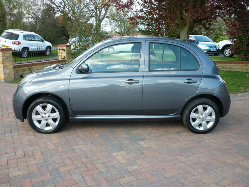 2005 grey nissan micra 1 2 sport one lady owner in lincoln lincolnshire gumtree. Black Bedroom Furniture Sets. Home Design Ideas