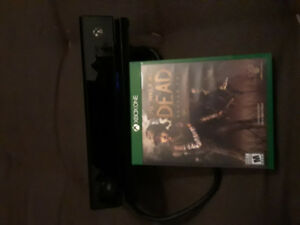 Xbox one Kinect and game the walking dead season 2