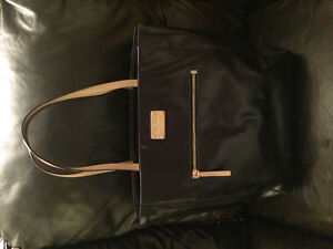 Authentic Kate Spade navy patent leather tote