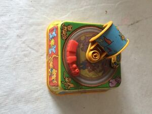 wind up tin childs toy