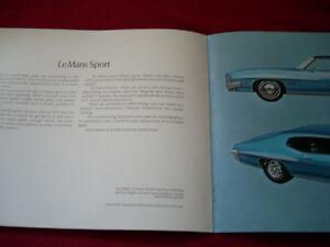 1971 GTO, LeMans Sport sales brochure Peterborough Peterborough Area image 4