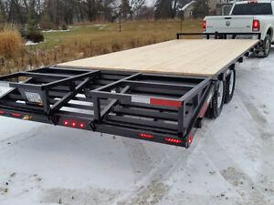 New 22 ft. Deck Over Wheel Cargo Trailer - 10,000 lb