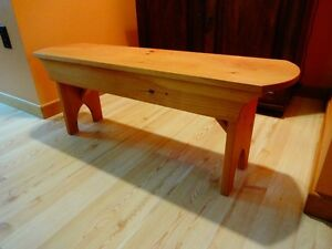 Wooden Bench with Storage - Moving Sale